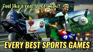 Download BEST SPORTS GAMES || of every event || feel the real sportsman in you!! Video
