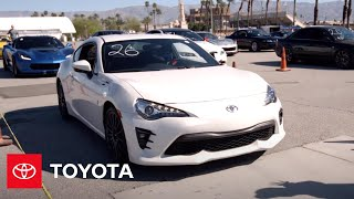 Download Toyota 86 Takes on Palm Springs Corvette Club Autocross | Toyota Video