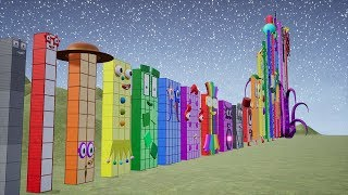 Download Fan-made Numberblocks are Counting from 1 to Most Biggest 1,000,000. Video