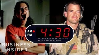 Download I Woke Up At 4:30 a.m. For A Week Like A Navy SEAL Video