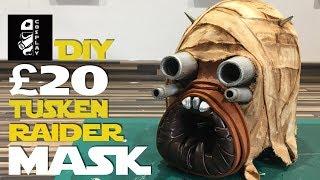 Download £20 DIY Tusken Raider Mask | #20PoundPropChallenge (Ace Vs. Buckethead Props) Video