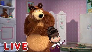 Download Masha and the Bear 🎬💥 LIVE STREAM 💥🎬 Best cartoons for kids and for the whole family Video