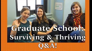 Download Graduate School: Surviving & Thriving! Video