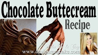 Download Easy Chocolate Buttercream Recipe Video