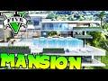 Download GTA V MOD MEGA MANSION CON CUEVA MISTERIOSA!! MANSION DE LUJO GTA 5 MODS PC Makiman Video