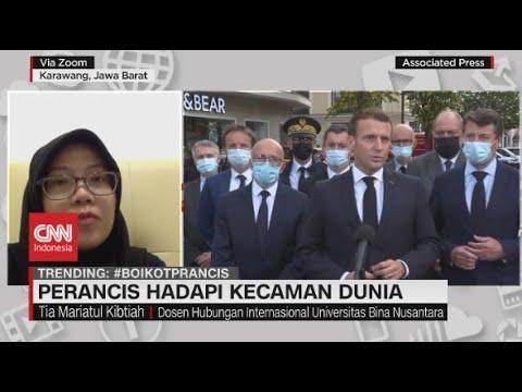 Perancis Hadapi Kecaman Dunia