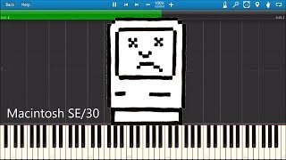 Download MACINTOSH DEATH CHIMES IN SYNTHESIA Video