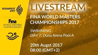 Download LIVE - Swimming Day 7: Duna Arena Pool A | FINA World Masters Championships 2017 - Budapest Video