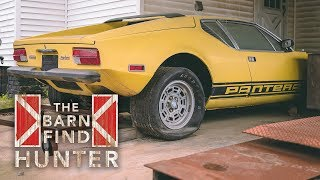 Download R-Code Ford Galaxie 500, De Tomaso Pantera and MORE! | Barn Find Hunter - Ep. 49 Video