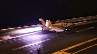 Download USN Enters The Persian Gulf • Night Carrier OPS (MAY 2019) Video