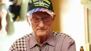 Download Lonnie Cook, a Pearl Harbor Survivor, talks about what he experienced on Dec. 7, 1941. Video