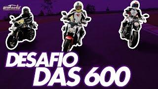 Download HONDA 600F HORNET X HONDA CB650F X YAMAHA MT-07 - ESPECIAL DESAFIO DAS 600 #63 | ACELERADOS Video
