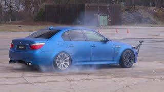 Download BEST of BMW M5 V10!! BURNOUT, DRIFTS, REVS!! Video
