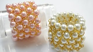 Download PandaHall Jewelry Making Tutorial Video-Make a Chain Bracelet with Pearl Beads for Bridesmaids Video