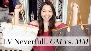 Download Louis Vuitton Neverfull GM vs. MM Comparison | Chase Amie Video