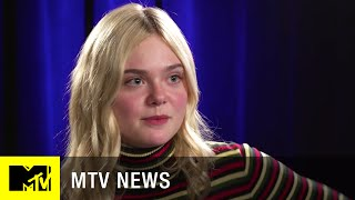 Download Elle Fanning Talks Playing Transgender in 'About Ray'   MTV News Video