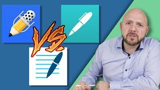 Download Best Note-Taking App for iPad Pro and Apple Pencil 2018 - Notability vs GoodNotes vs Noteshelf Video