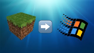 Download Minecraft on Windows 2000 Video