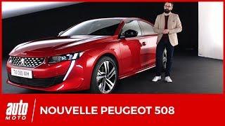 Download 2018 Nouvelle Peugeot 508 : le design et l'intérieur en détails (avis, moteurs, habitabilité) Video