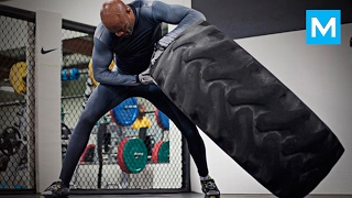 Download Anderson Silva Training for Next Fight | Muscle Madness Video