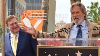 Download Jeff Bridges revives 'The Dude' to honor his Big Lebowski co-star John Goodman Video