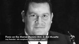 Download Picnic on the Marne (Ned Rorem) - Mvt. 3. Bal Musette Video
