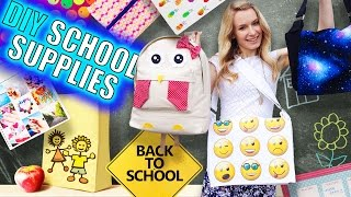 Download DIY School Supplies & Room Organization Ideas! 15 Epic DIY Projects for Back to School! Video