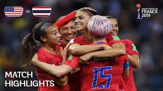 Download USA v Thailand - FIFA Women's World Cup France 2019™ Video