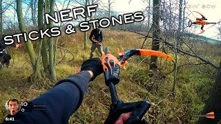 Download Nerf meets Call of Duty: Sticks and Stones (First Person in 4K!) Video