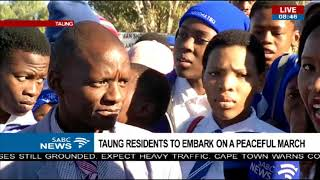 Download Taung residents to embark on a peaceful march Video