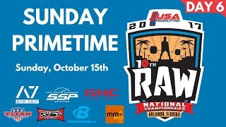 Download Primetime Sunday - 2017 USA Powerlifting Raw Nationals Video