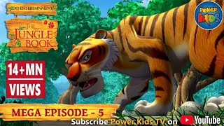 Download The Jungle Book Cartoon Show Mega Episode 5   Latest Cartoon Series for Children Video