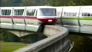 Download WDW Monorail Resort Line - a study (1992) Video