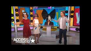 Download Watch Derek Hough Play 'Who's That Hair' With Kit & Nat! Video