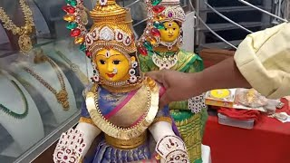 Hands and legs making for devi navaratri idol and