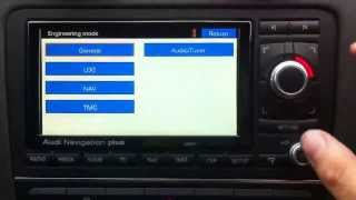 VW Discover Pro (MIB2) Green engineering menu enabled Free Download