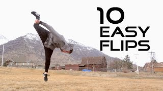Download 10 Flips Anyone Can Learn - Flip Progressions Video