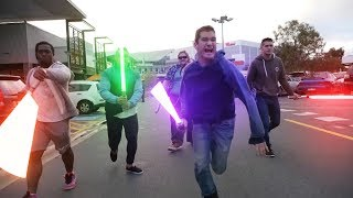 Download STAR WARS in Public Video