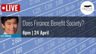 Download Does Finance Benefit Society? Video