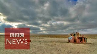 Download Aral Sea: The sea that dried up in 40 years - BBC News Video