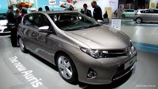 Download 2013 Toyota Auris - Exterior and Interior Walkaround - 2012 Paris Auto Show Video