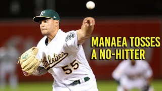 Download Watch the final pitch of Manaea's no hitter in Oakland Athletic's win over Red Sox Video