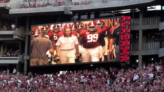 Download Alabama Crimson Tide coming out of the Tunnel!! Video