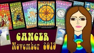 Download Tarot psychic reading CANCER NOVEMBER 2019 It's in the Bag! Tarot psychic reading forecast Video