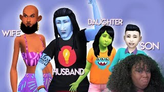 Download UGLY TO BEAUTY CHALLENGE: FAMILY EDITION! 👨👩👧👦 | The Sims 4 Video