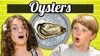 Download KIDS vs. FOOD - OYSTERS Video