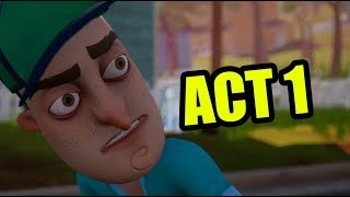 Download Hello neighbor FULL GAME Act 1 Video