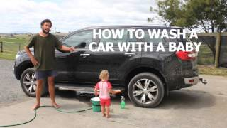 Download HOW TO WASH A CAR WITH A BABY Video