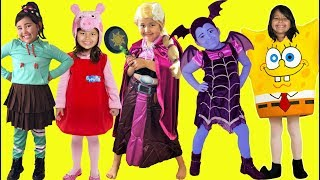 Download Kids Costume Runway Show | Makeup Halloween Costumes and Toys Video