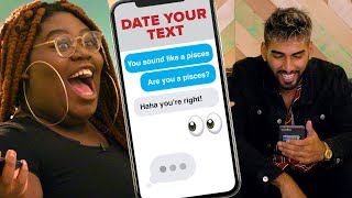 Download Girl Chooses A Blind Date Based On Their Texts Video
